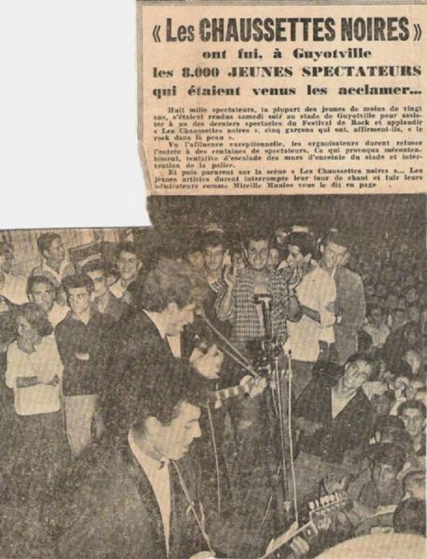 chaussettes noires guyotville 1961