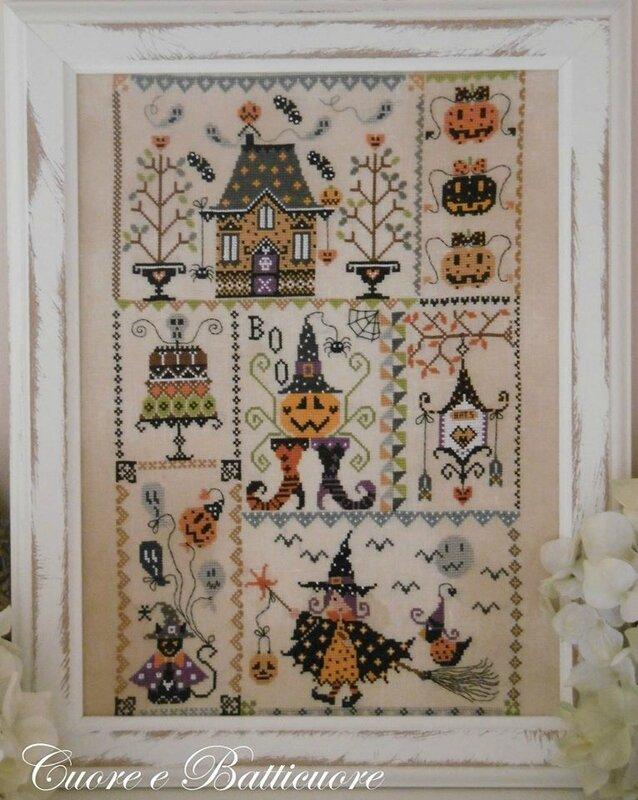 Halloween in quilt