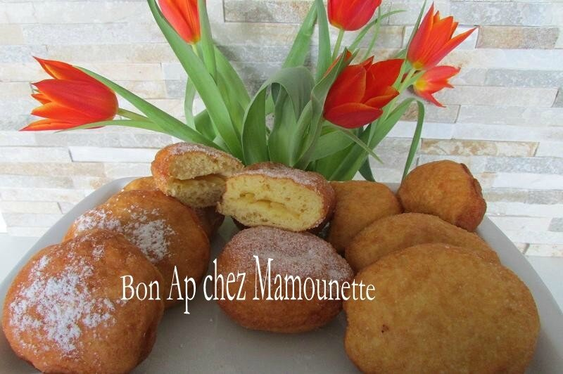 beignets farine et polenta à la pomme du verger 032