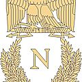 Point de croix : embleme napoleon
