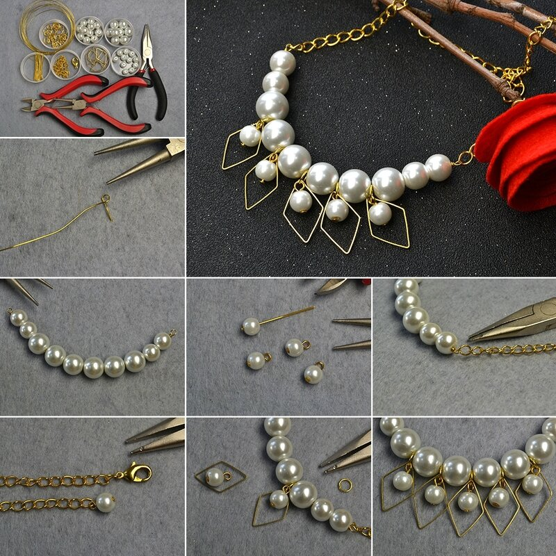 1080-How-to-Make-Pretty-Pearl-Beaded-Chain-Necklace-for-Wedding