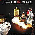 1ère grande fête médiévale à l'abbaye de la lucerne (50) - samedi 11 et le dimanche 12 mai 2013