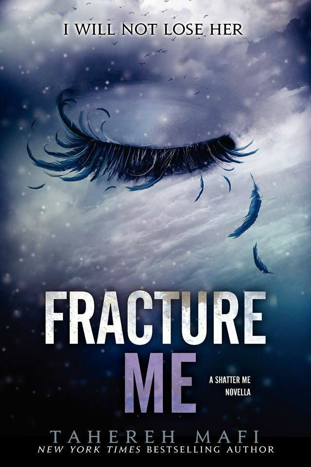 Book Cover Series Questions : Insaisissable tome fracture me de tahereh mafi les