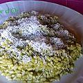 Risotto à la crème d'asperges-les recettes de enzo