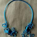 Bijoux fils métalique