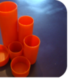 Porte stylos orange - 20,50 €