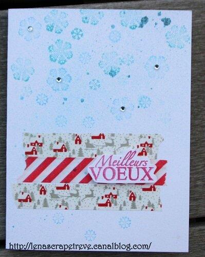 carte 16 bis Lenascrap Noël 2014