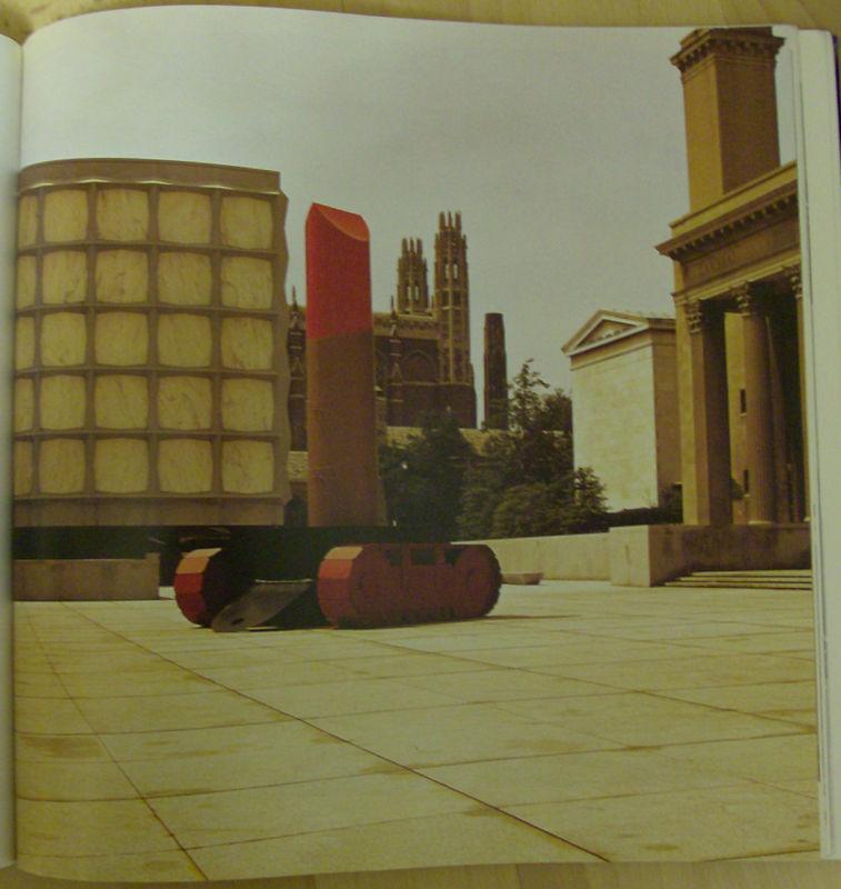 Claes Oldenburg, Rouge à lèvre monté sur un tank, 1969
