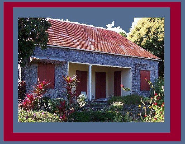La maison creole de la grand mere de mon mari a l 39 ile de la reunion creat 39 maud for Maison de la reunion