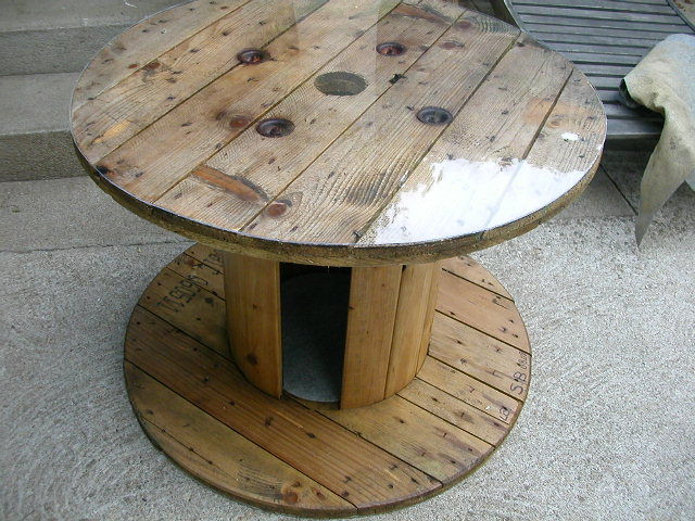 une table basse...