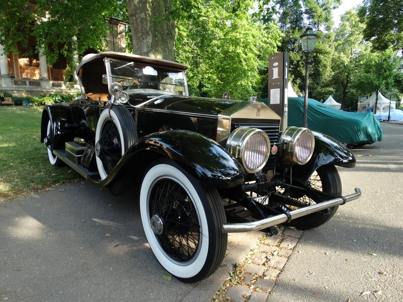ROLLS ROYCE Silver Ghost Picadilly roadster 1922 Baden Baden (1)