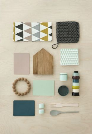 fermliving serviettes losanges