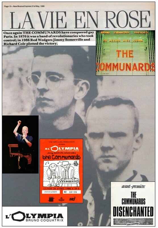 Communards Olympia april 1986