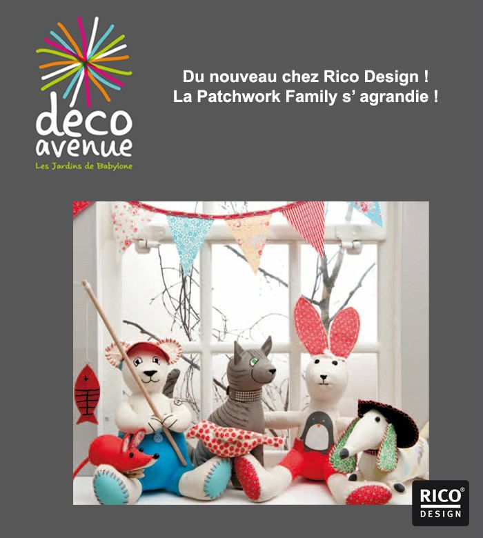 la patchwork family decoavenue le blog. Black Bedroom Furniture Sets. Home Design Ideas