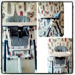 Picture1: Peg-perego Prima pappa Diner high chair. At the shop: 400tl. Mine(moi):150TL