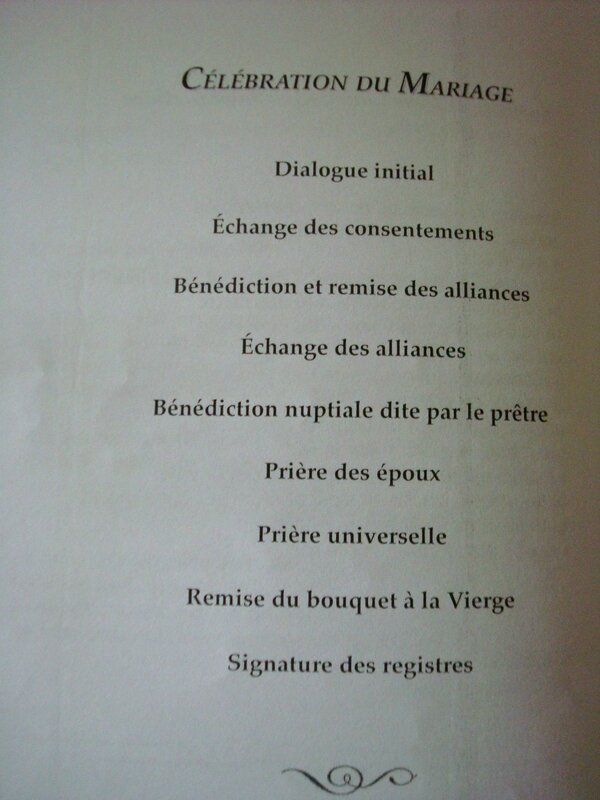 Assez 9) Création & personnalisation du livret de messe pour un mariage  KN58