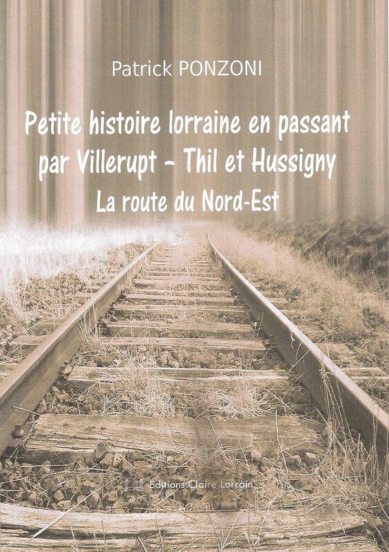 Couverture face Petite Histoire Lorraine