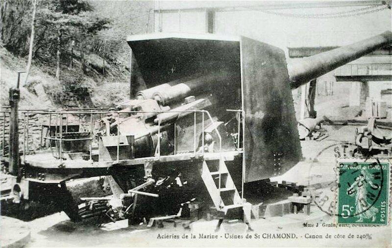 canon de côte de 240 mm