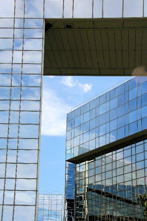 9-Graphisme, immeubles, reflets Parc A