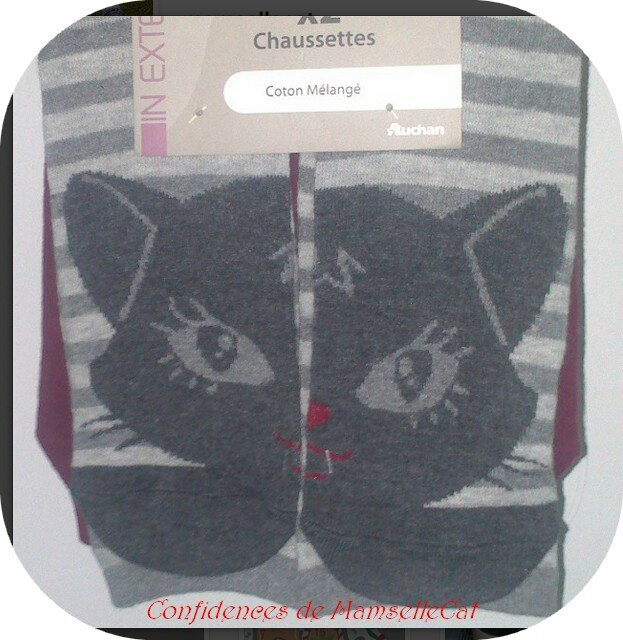 chausettes chat