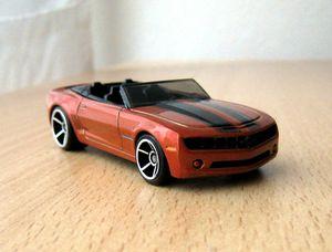 Chevrolet camaro convertible concept 01 -Hotwheels-