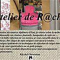 L'atelier de r@chel