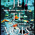 Je te vois - clare mackintosh - editions marabout
