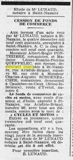 1940 le 6 décembre Courrier de Saint-Nazaire et de la Région_2