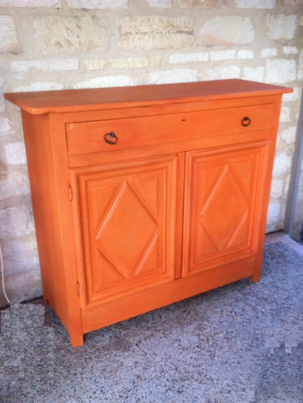 buffet ancien barcelona orange