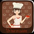 Pommes caramélisées, sauce mascarpone et pistaches - un tour en cuisine