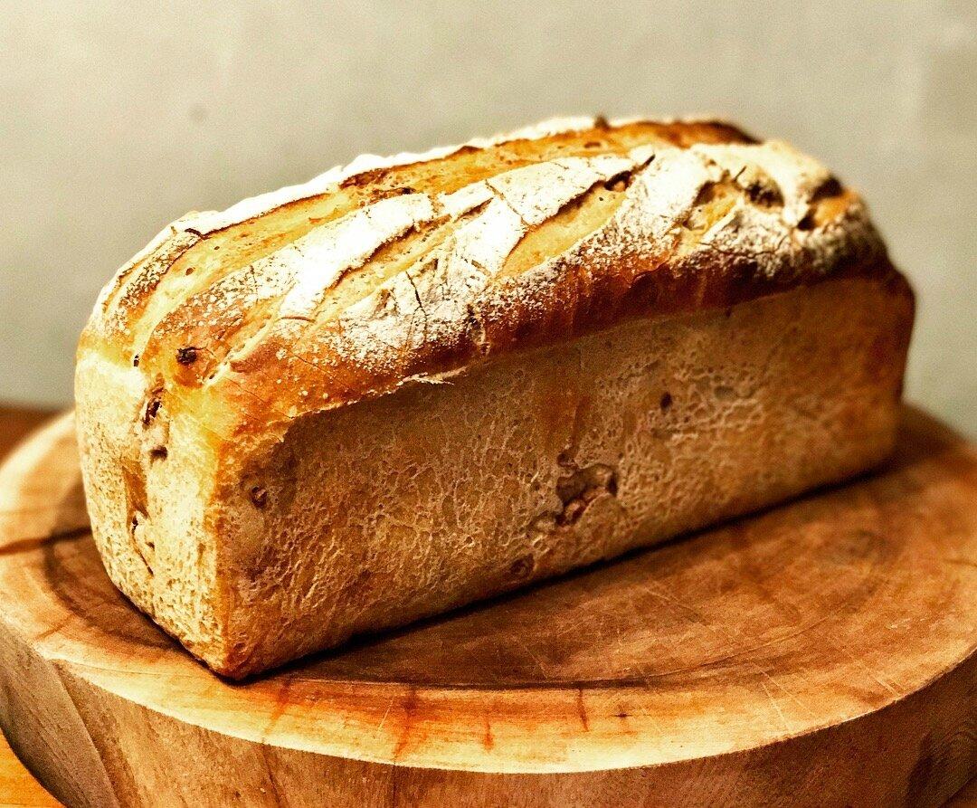 Le Pain d'Automne (pain semi-complet aux noix)