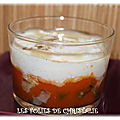 Oeufs cocotte haricots, tomate , chèvre
