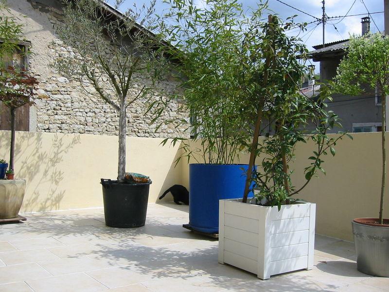 Peinture pour terrasse bois exterieur for Deco exterieur bois