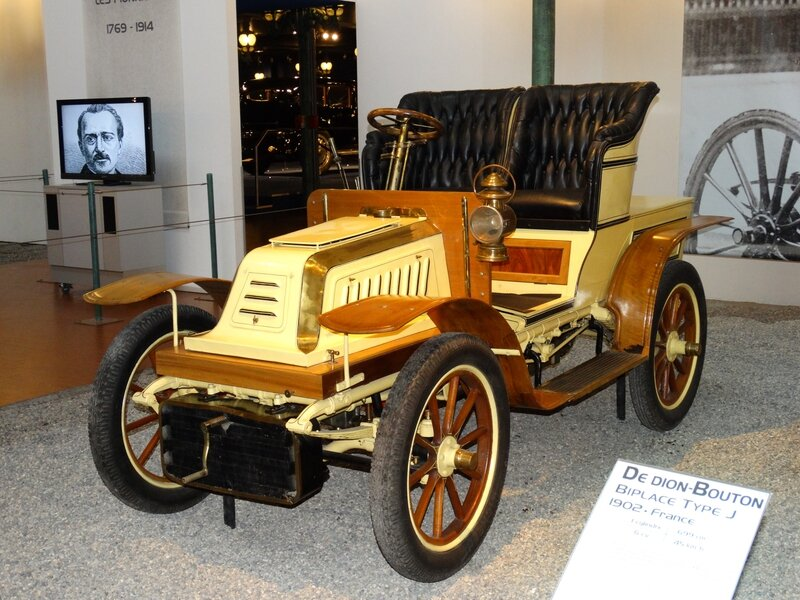 DE DION BOUTON type S biplace 1903 Mulhouse (1)