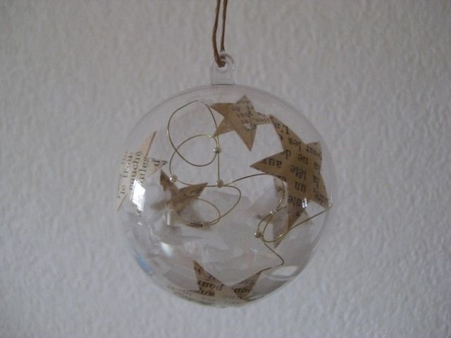 D co de no l mixed media lilie scrap for Boule de noel plastique a decorer