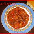 Felfla bel zit zitoun (salade poivrons à l'huile d'olive)