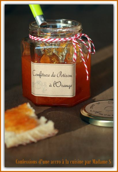 Confiture potiron orange 011