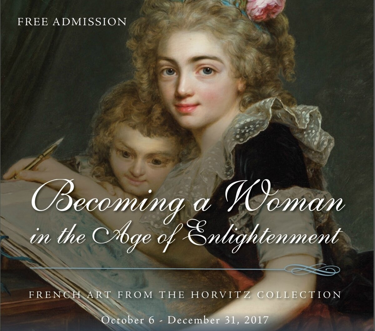 Harn Museum of Art displays French art featuring women in the 18th - early 19th centuries