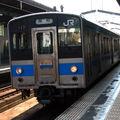 JR 121系 丸亀駅