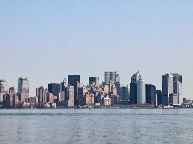 Vue de Manhattan en bateau