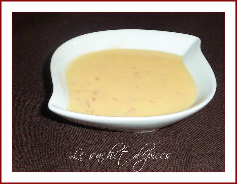 Sauce au beurre d'agrumes