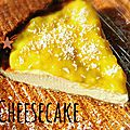 Cheesecake coco & mangue selon betsa