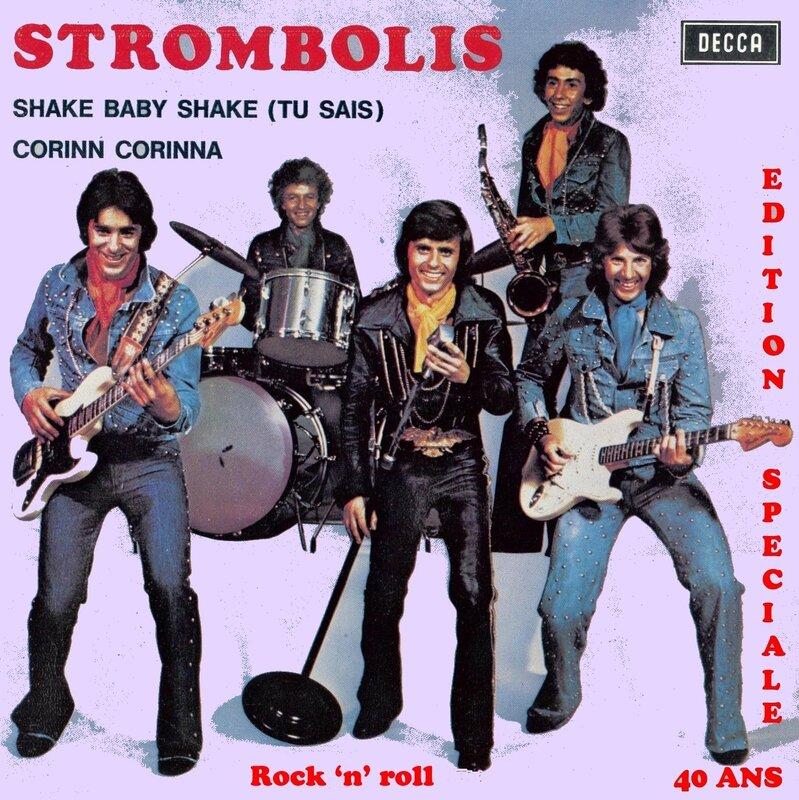 The Strombolis - Recto pochette - CD N°1