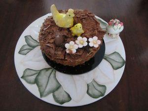 nido di cioccolato