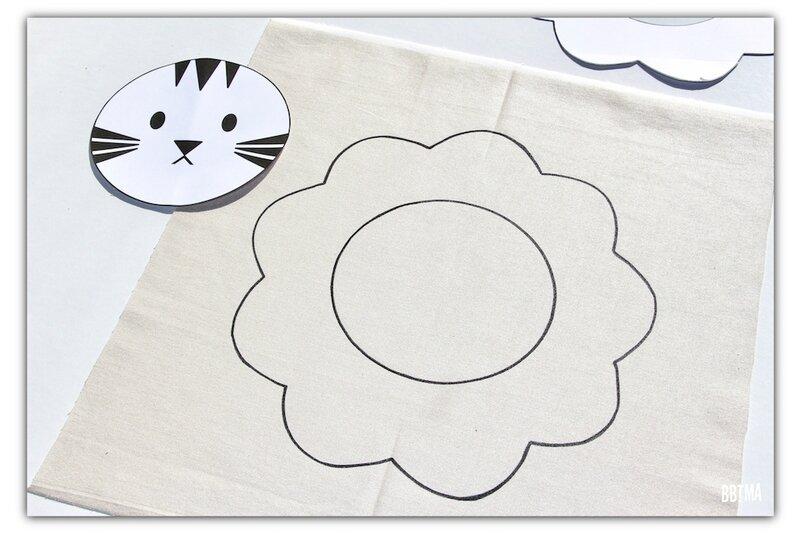 5 diy tuto coussin giotto feutre textile decor enfant dessin kids by bbtma le blog