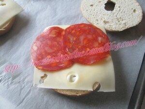 Bagel au poulet & chorizo27
