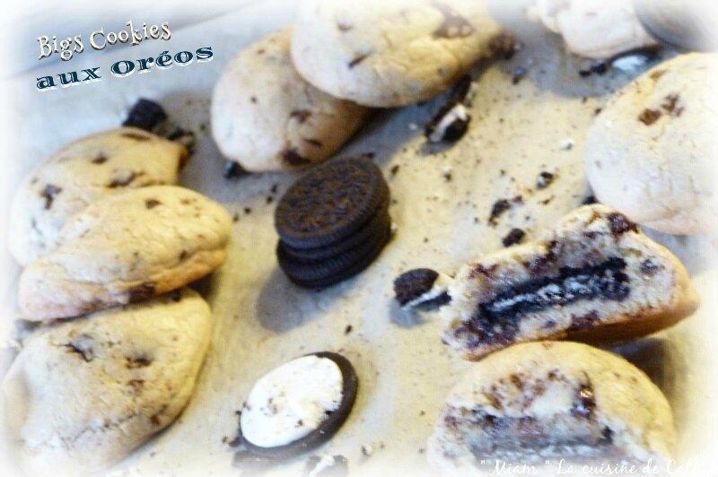 """ღ """" Miam """" The Big Cookie aux Oréos"""