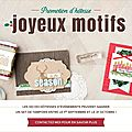 Stampin'up ! - promotion d'hôtesse