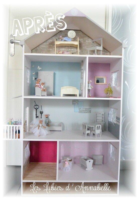 Maison de figurines Tilda