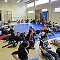 Aérien: rencontre des écoles à Montigny